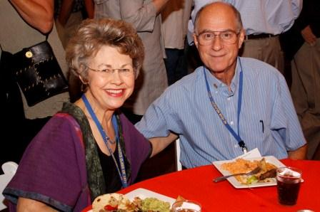 Paul and Peggy Foerster, our Guests of Honor